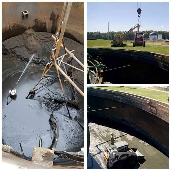 digester & tank cleaning services